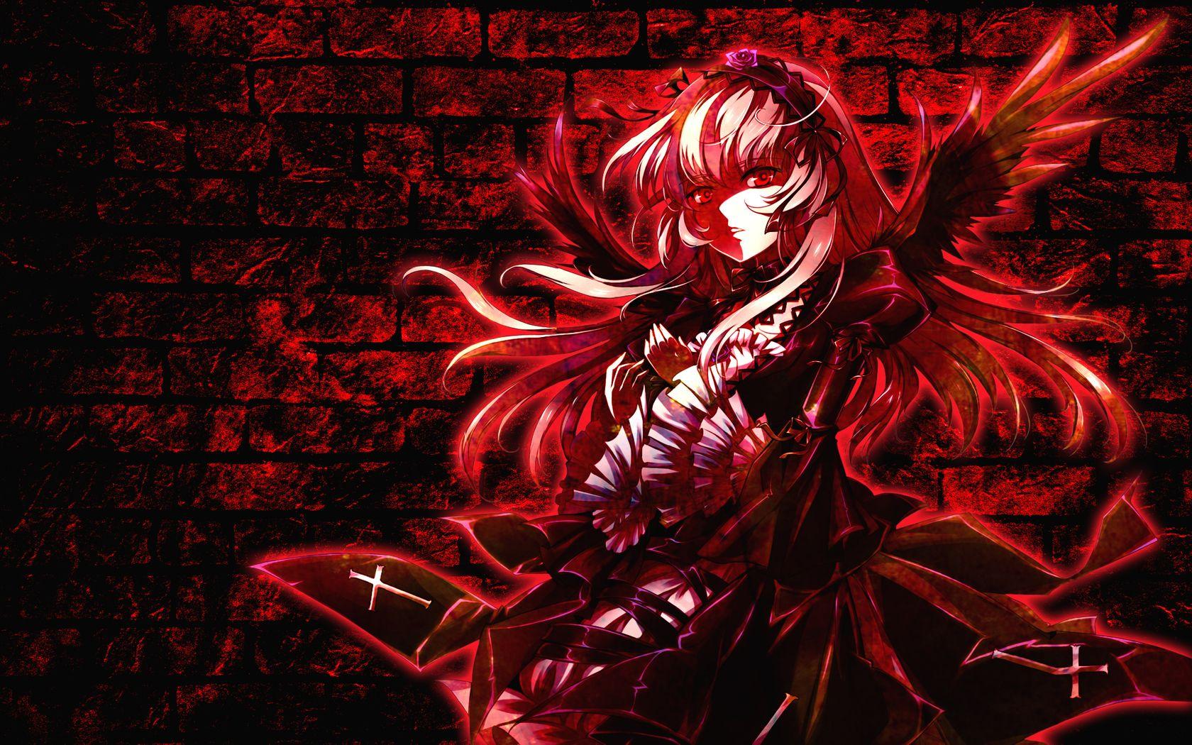 Red Dark Angel Wallpaper Hd Background Wallpapers Dark Angel