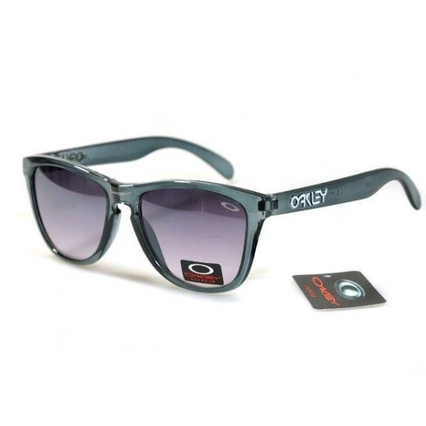 a79fa940832  12.99 Cheap Oakley Frogskins Sunglasses Purple Lens Clear Grey Frames Shop  Deal www.racal.org