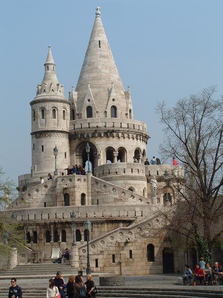 Castles Photo Fisherman S Bastion Castle Castle Ruins Medieval Castle