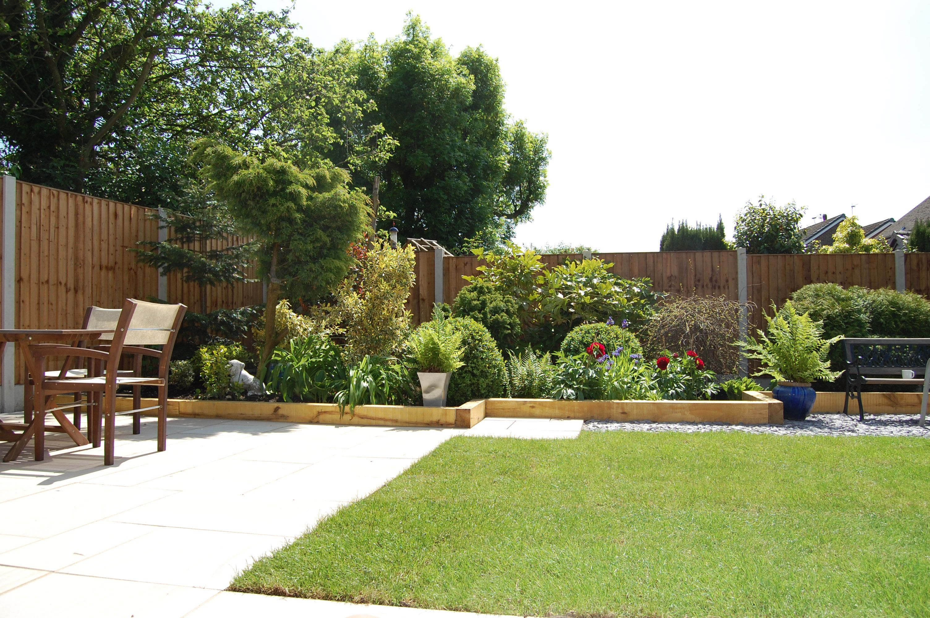 Mr And Mrs Derbyshire Supplied This Picture Of Their Finished Garden Oliver Paving Widnes Gave Them A Complete Garden Mak Garden Makeover Outdoor Decor Patio