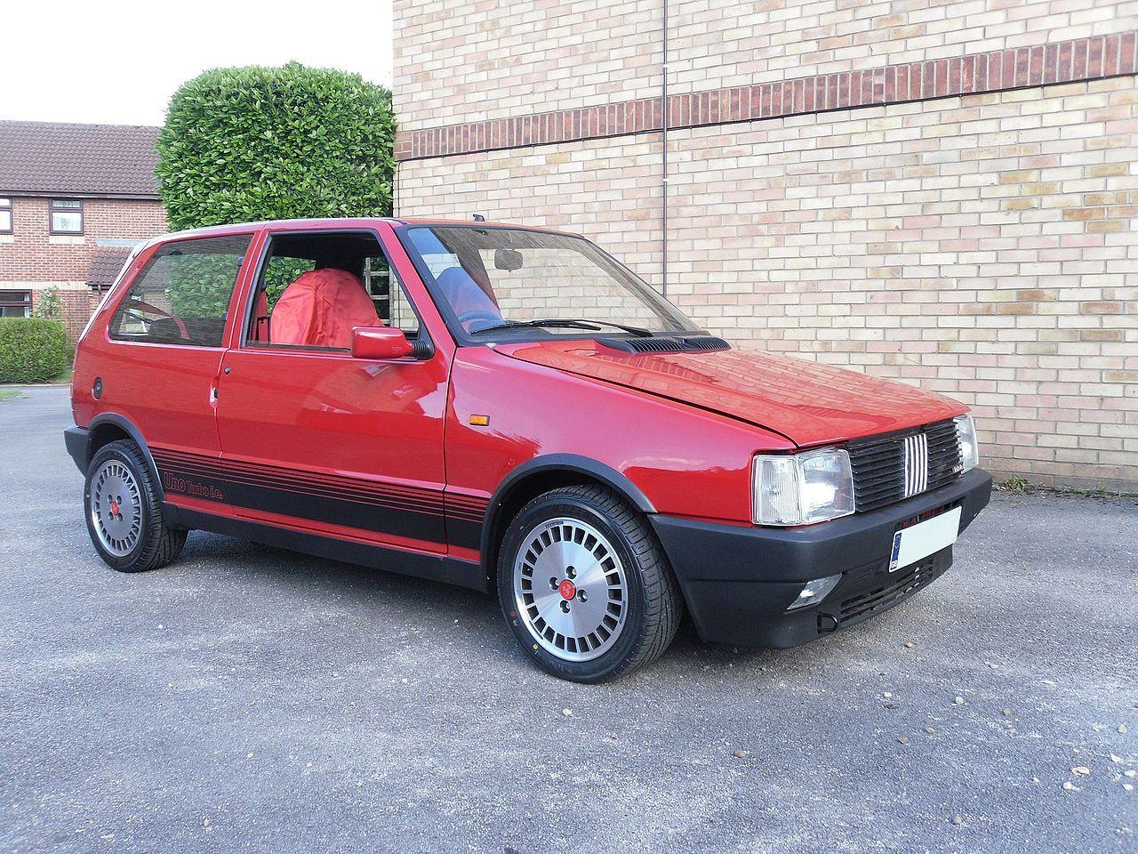 uk-registered fiat uno turbo i.e. (1988) - fiat uno - wikipedia
