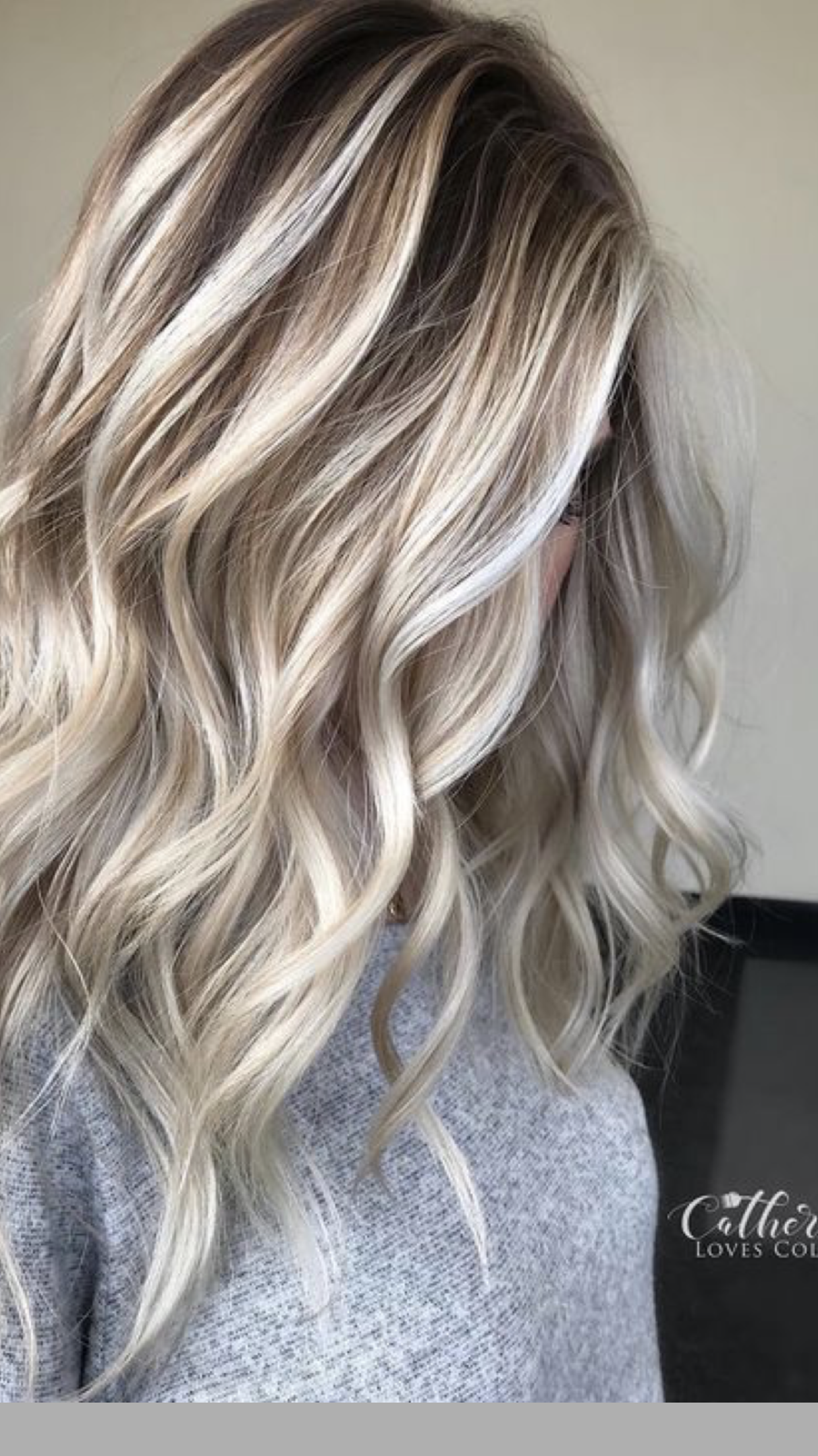 Pin By Penny Bingham On Potential Winter Hair Colour For Blondes White Blonde Hair Winter Hair Color