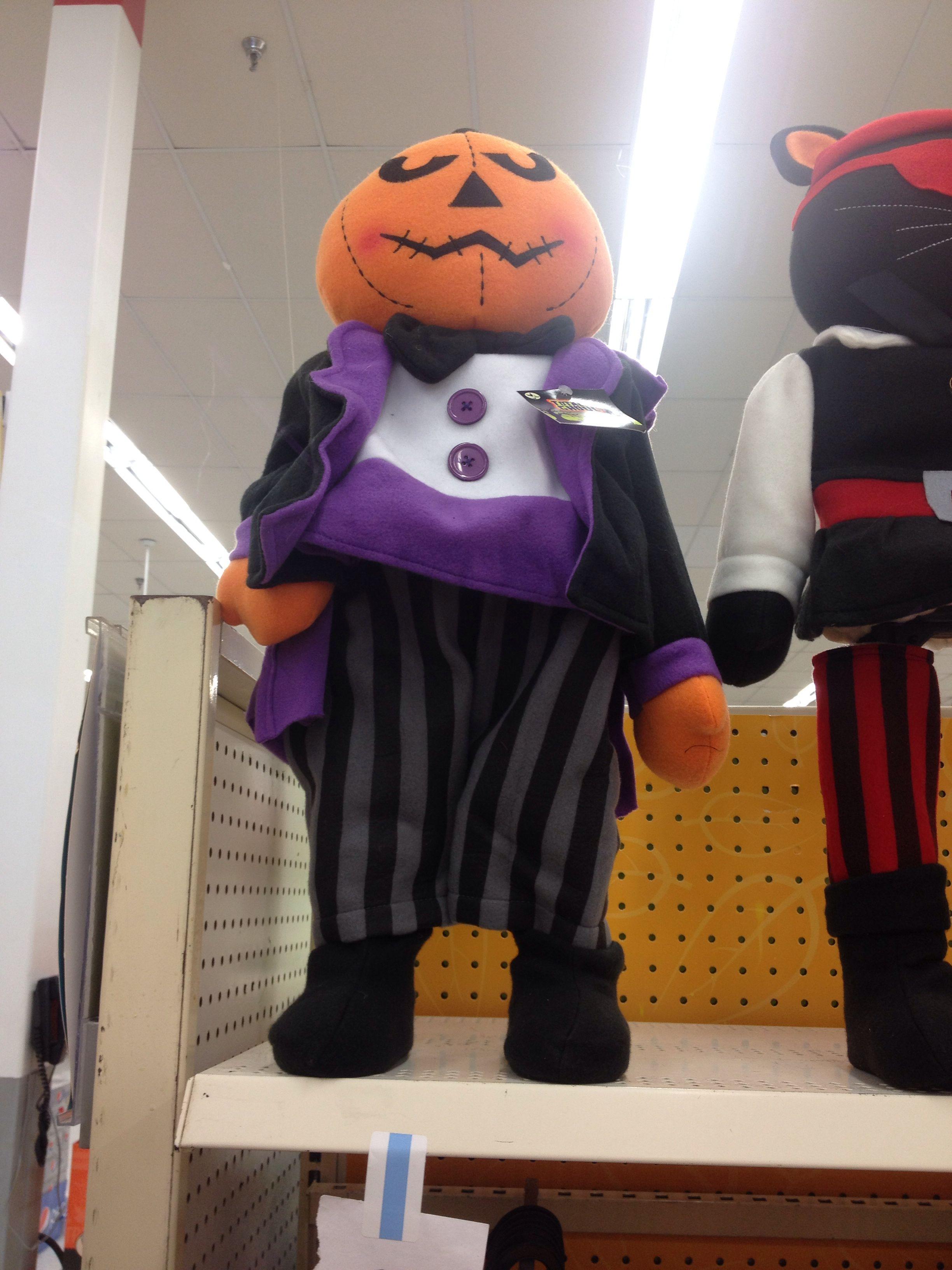 standing pumpkin man at kmart halloween decorations - Kmart Halloween Decorations