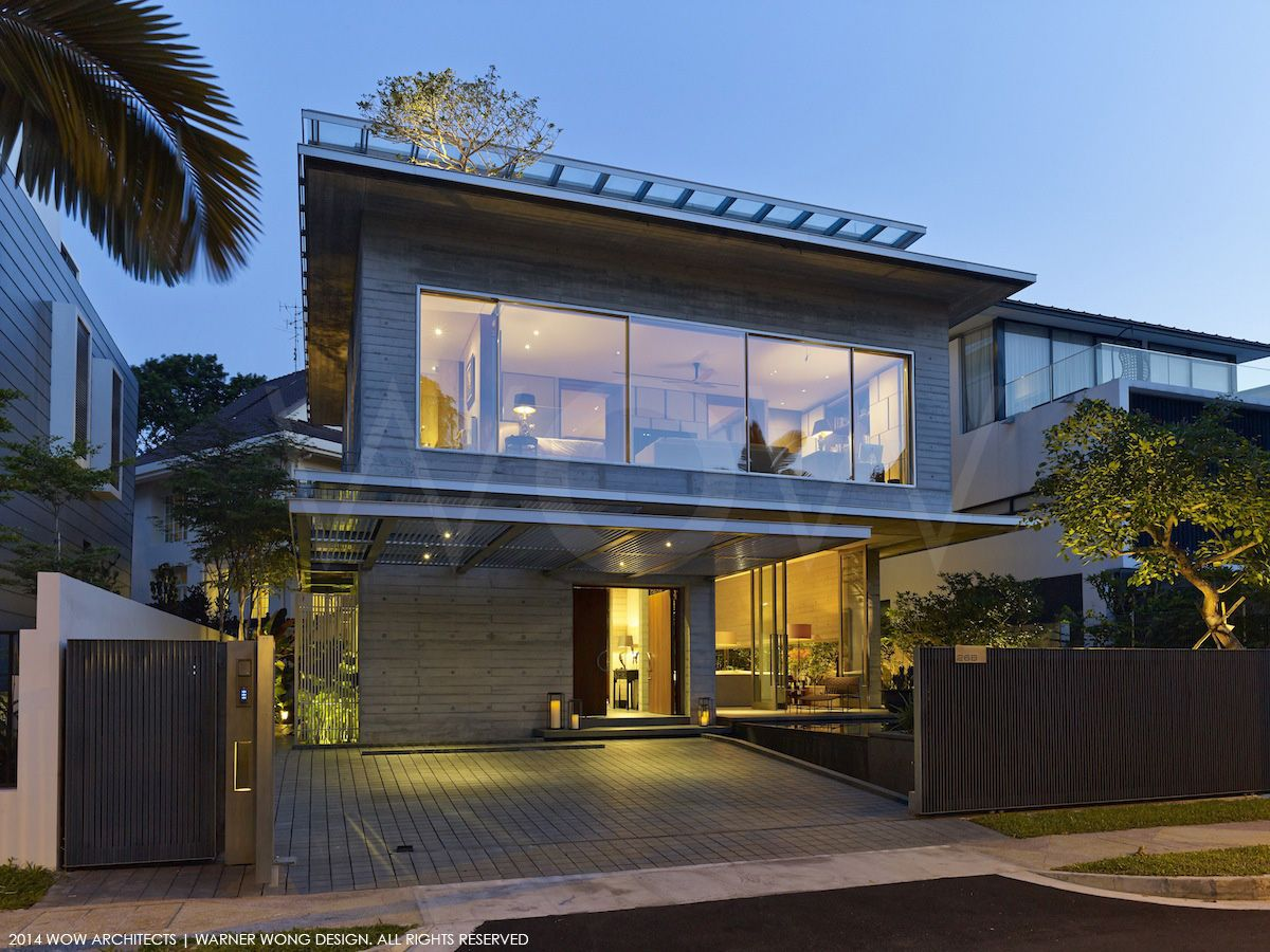 WOW Architects. CHILTERN HOUSE SINGAPORE PRIVATE RESIDENCE