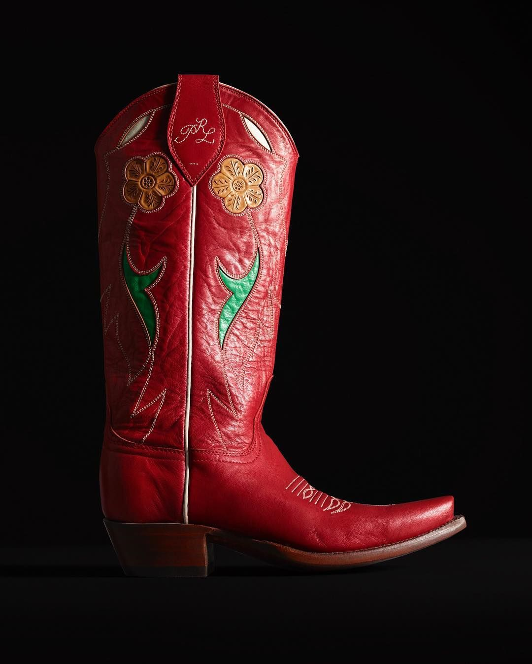 Boots, Cowboy boots, Leather cowboy boots