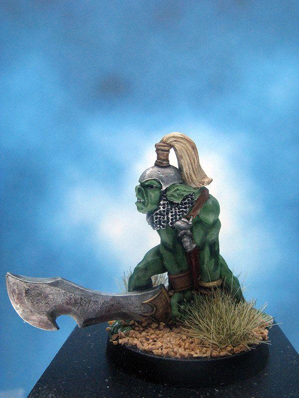 https://flic.kr/p/JUgenU | Painted I-Kore Celtos Miniatures Orc Maulers.