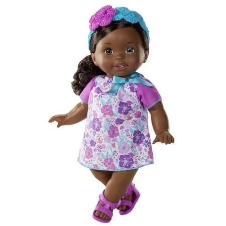 Little Mommy Sweet As Me Floral Fun Doll, African American
