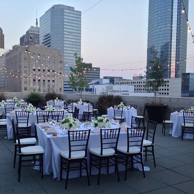 Outdoor Wedding Ceremony No Music: OKCMOA Roof Terrace (With Images)