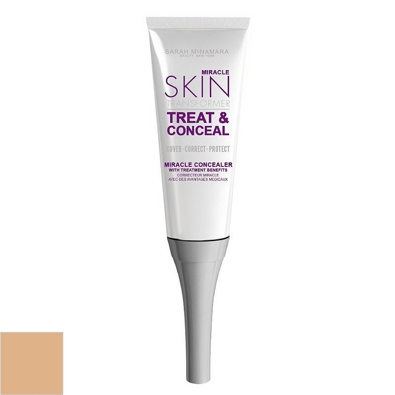 Miracle Skin Transformer Treat & Conceal Miracle Concealer, Beig/Green (Beig/Khaki)