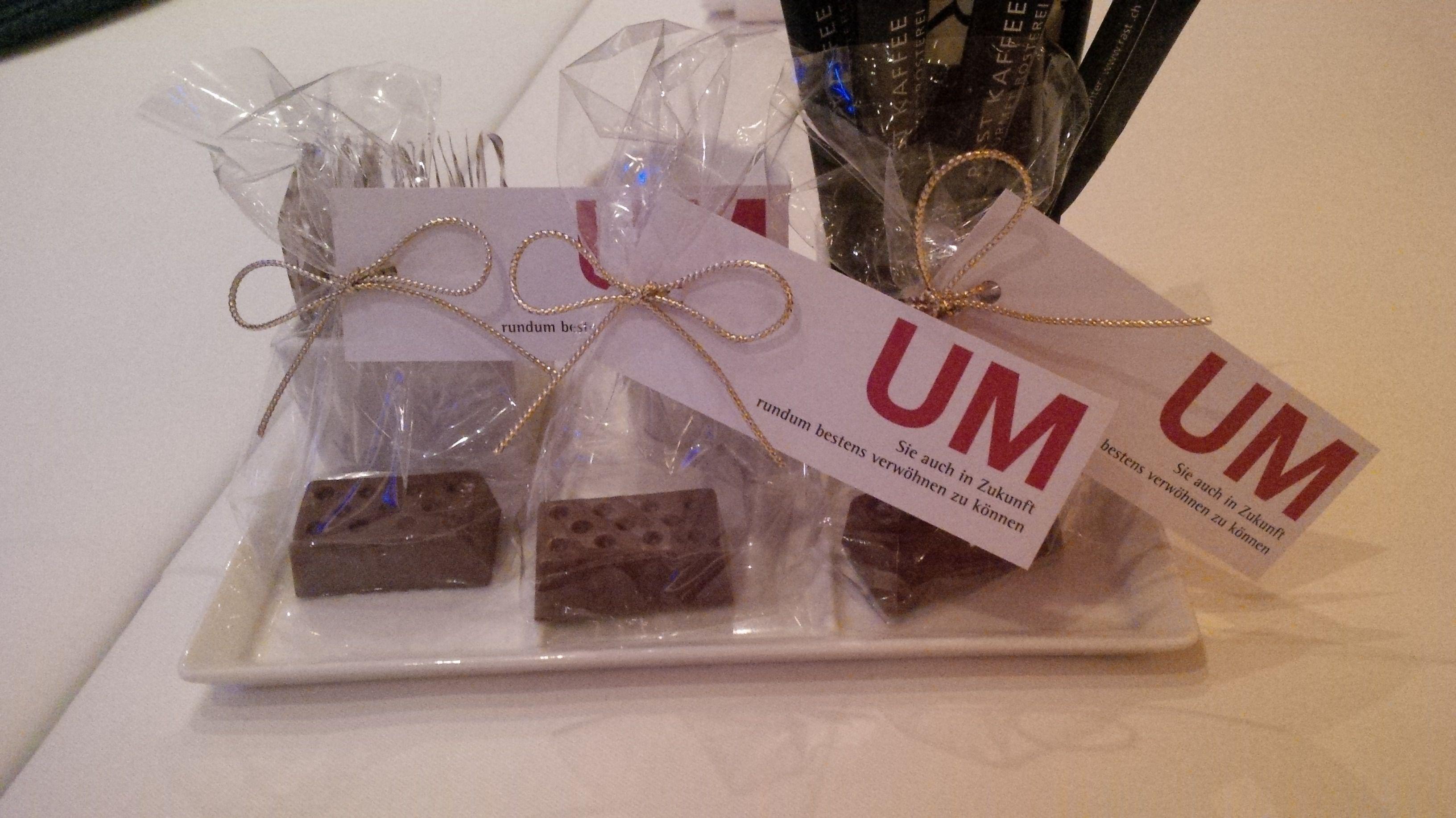 Lego chocolates @ Restaurant Baccara