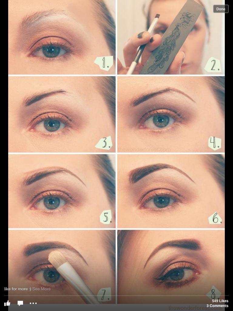 Eyebrow Shaping Eyebrow Tips Pinterest Eyebrow Make Up And