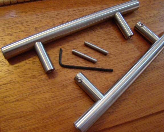 Great Arthur Harris Back To Back Cabinet Pull Mounting Method   Pair Of Stainless  Steel Pulls For