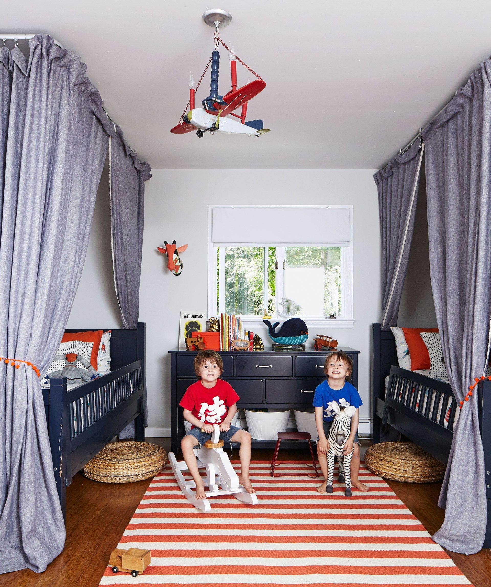 image result for kids room red trim elle decor kids rooms shared rh pinterest com
