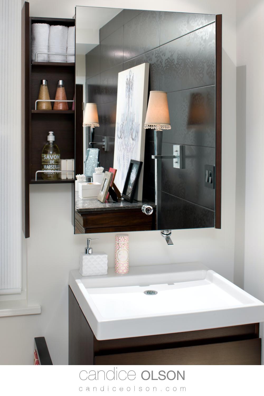 Candice Olson On Hidden Storage In The Bathroom Bathroom Storage Solutions Bathroom Design Glamorous Bathroom Decor [ 1500 x 1000 Pixel ]