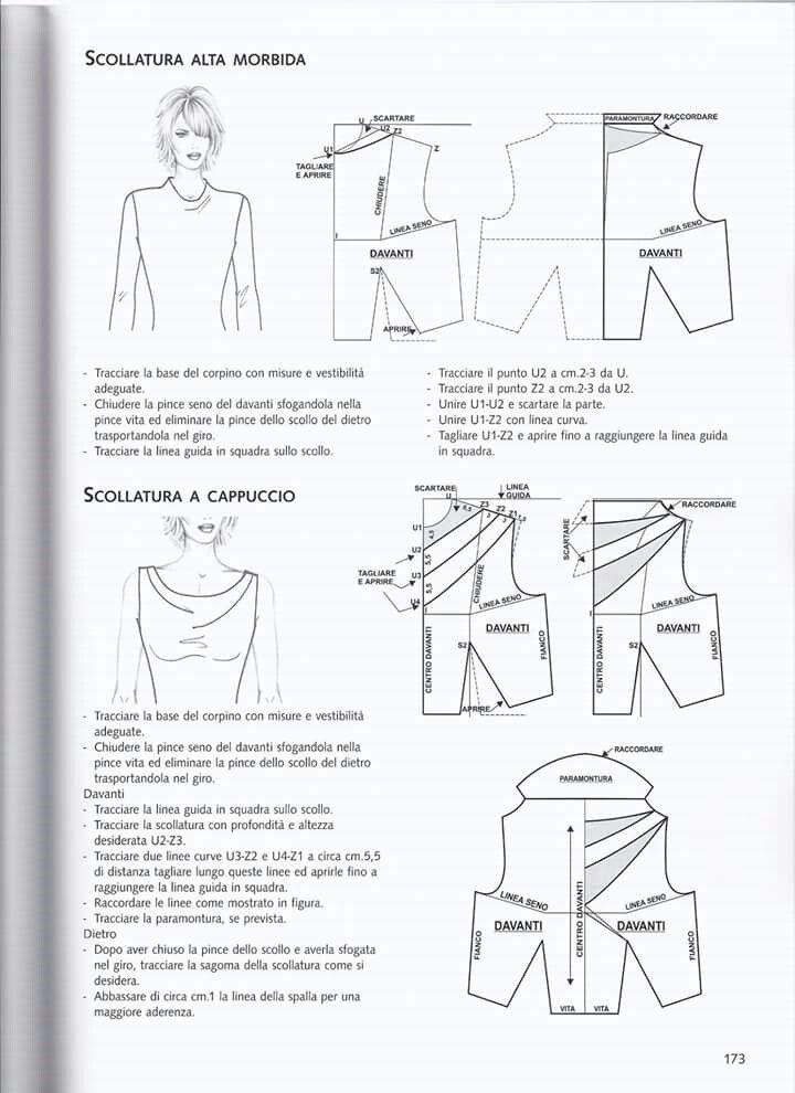 Pin de C. J. en cartamodelli | Pinterest | Patrones, Costura y Patronaje