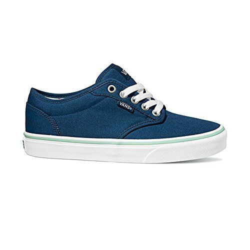Vans Womens Atwood Low Skateboard Shoes (7 B(M) US, Poseidon Blue