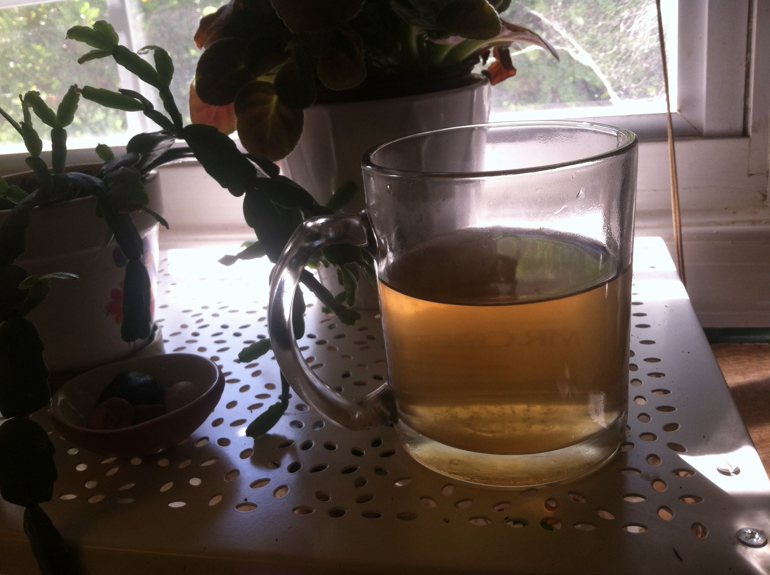 There is nothing like hot ginger tea. :)