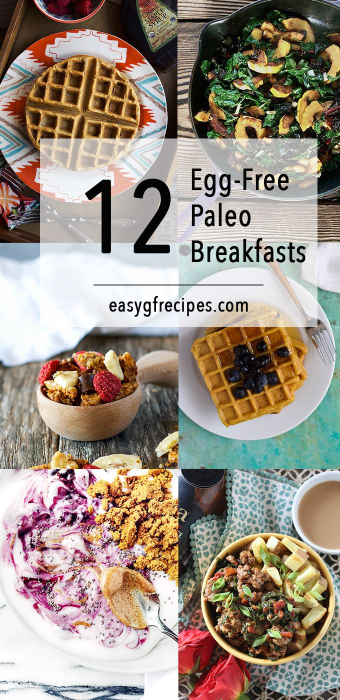 paleo diet breakfast without eggs