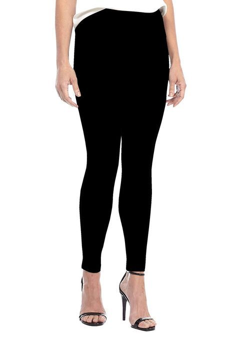 Women High Waist Yoga Fitness Leggings Running Gym Stretch Sports Pants Black - Black - CR18LYQ4N7Z...