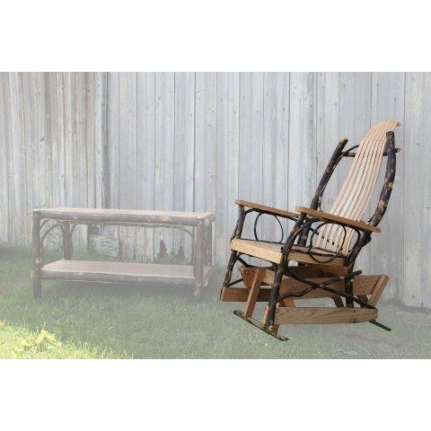 Hickory Glider Rocker | Amish furniture, Gliders, Furniture