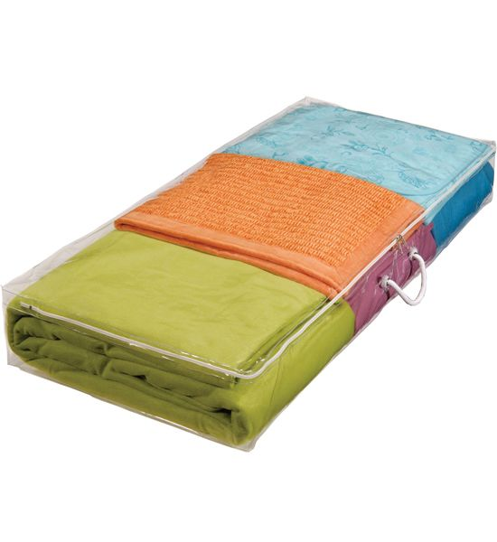 This Under Bed Storage Bag Gives You A Convenient Way To Extra Bedding Underneath The