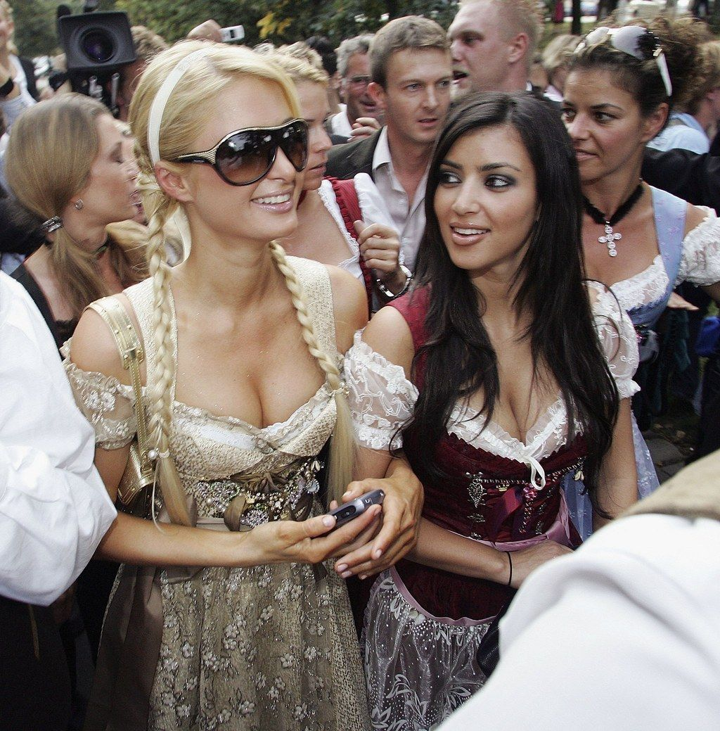 <b>Hard to believe, but there was a time when Kim K was Paris