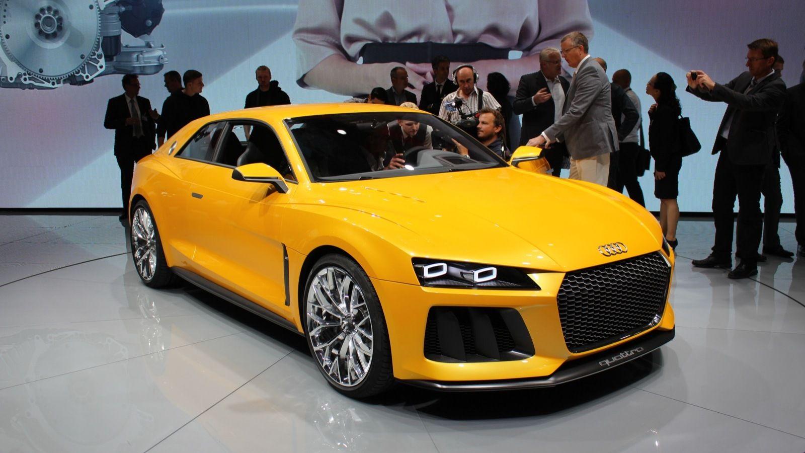 Geschwindigkeitstest 2021 Audi Sport Quattro