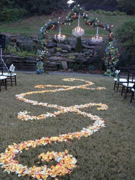 A Sigil As A Blessing For The Bride Down The Aisle Outdoor Fall Wedding Nordic Wedding Wiccan Wedding