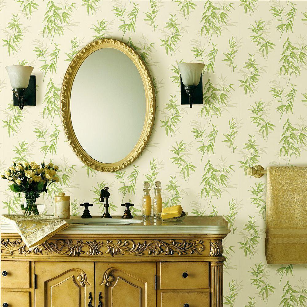 Best Brewster Bamboo Wallpaper Green Bamboo Wallpaper 400 x 300