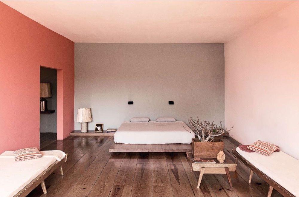 Camere Da Letto Da Sogno Moderne : Luis barragan casa pedregal color pink camera da letto
