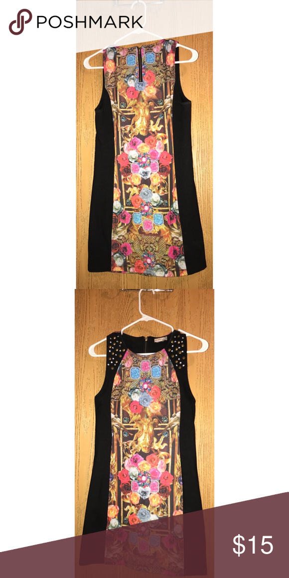Vintage Body Shop Renaissance dress Medieval mini dress