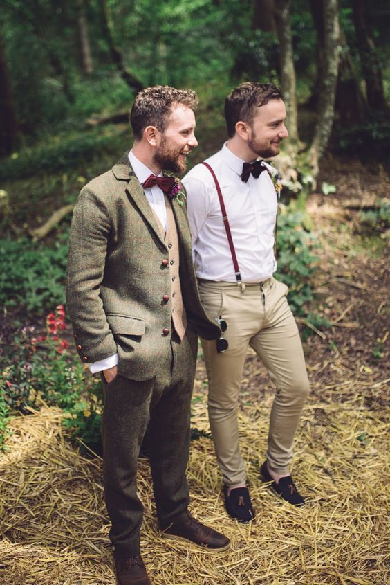 Types of Wedding Suits for Grooms | Three piece suits, Grooms and ...