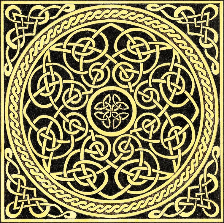 Traditional Celtic Knot By Cosmic Tool On Deviantart Design