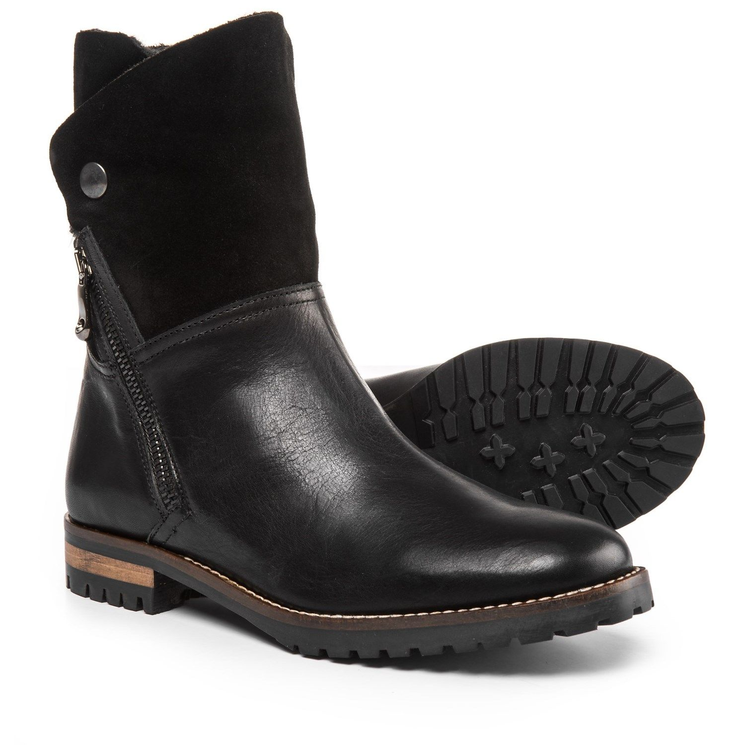 323a3feba3b Fabianelli Made in Italy Fur-Lined Boots - Leather (For Women ...
