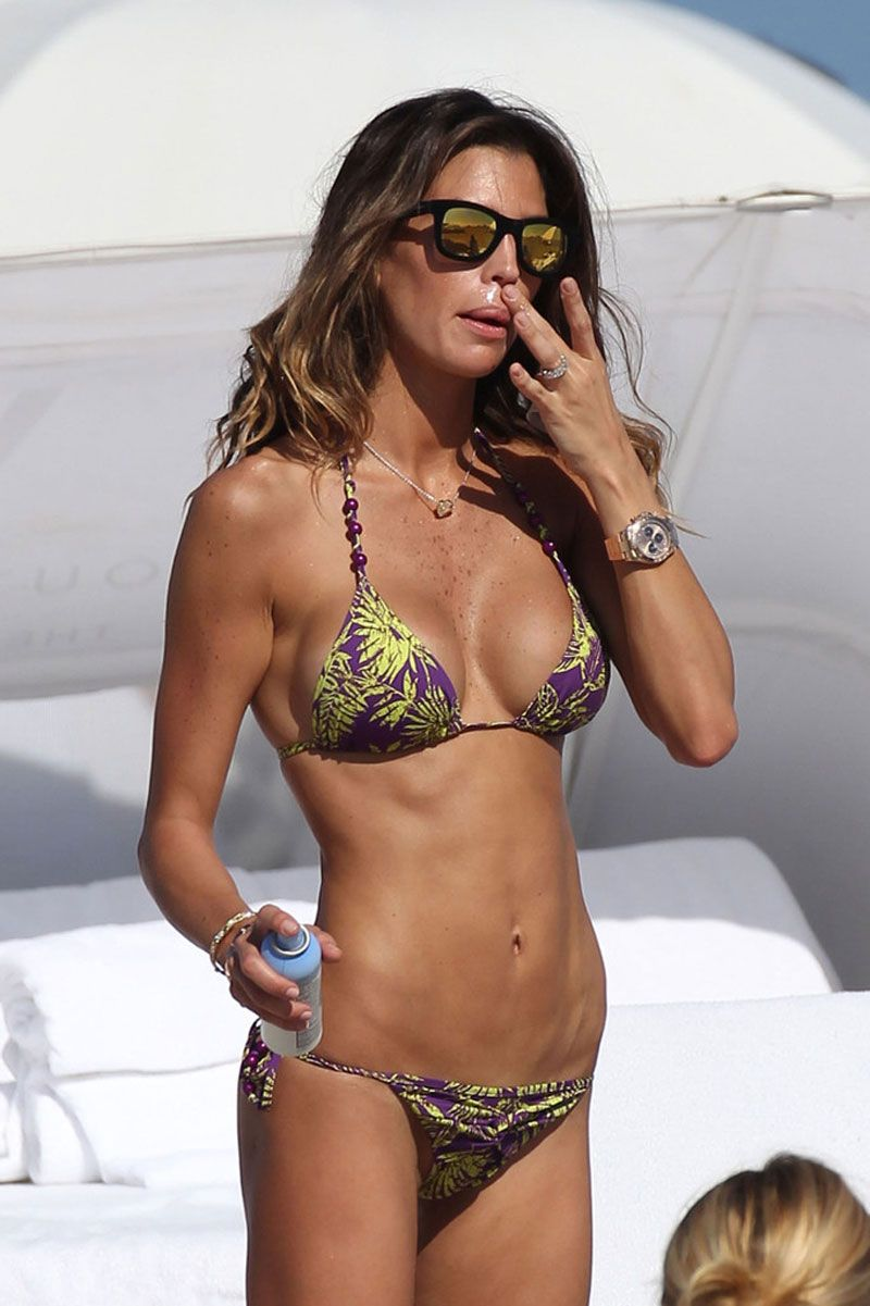 Claudia Galanti In Bikini On The Beach In South Beach 9