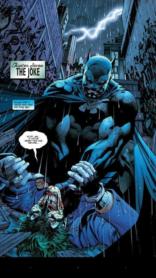 Batman Vs Joker Hush By Jim Lee Comics Stuff Batman Comics
