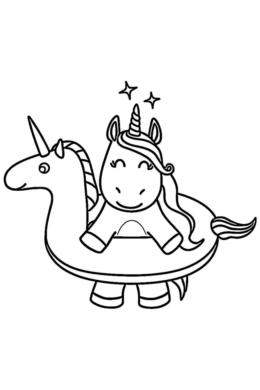 Cute Unicorn Coloring Pages For Kids Unicorn Coloring Pages Mermaid Coloring Book Mermaid Coloring Pages