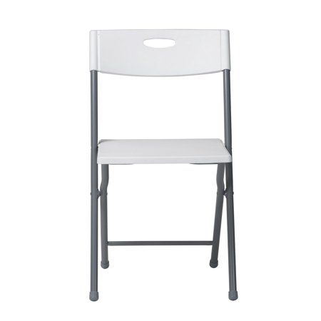Tremendous Mainstays Resin Folding Chair 2 Pack With Open Handle Spiritservingveterans Wood Chair Design Ideas Spiritservingveteransorg