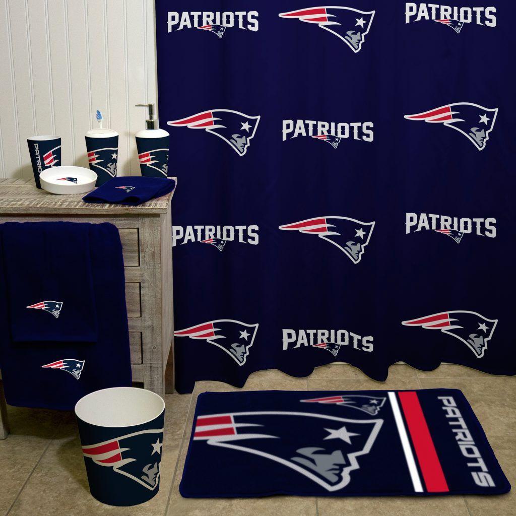 New England Patriots Bath Cs bath set  Sports bedding, Patriots