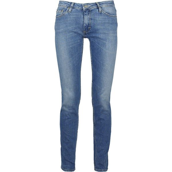 Acne flex high rise skinny jeans