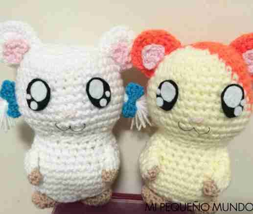 Hamtaro y Lasitos a Crochet