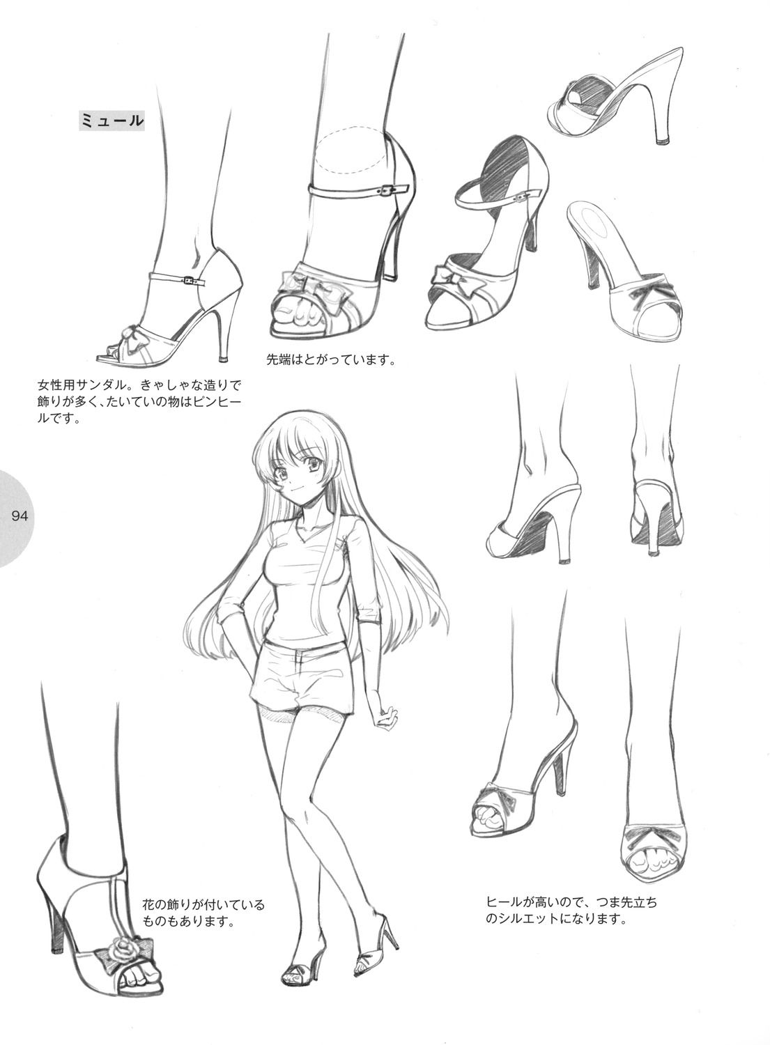 Knickerweasels: Drawing Feet And Shoes From Ȑ�えキャラクターの描き方 (how To Draw