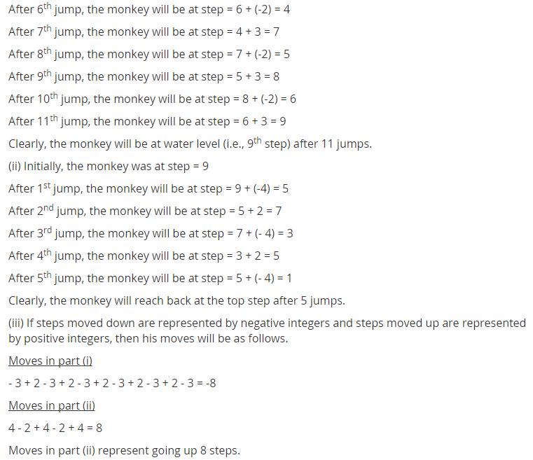Ncert Solutions For Class 7 Maths Integers Exercise 1 1 Math Integers Maths Ncert Solutions Math
