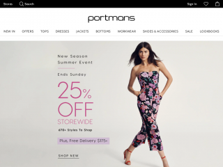 Portmans Coupon Codes Discount Code Promotional Codes Free