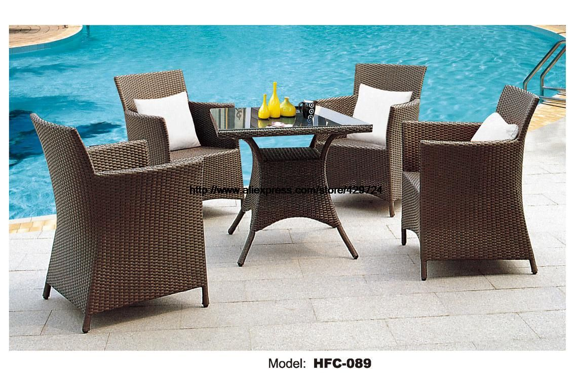 Hot sale brown outdoor furniture modern design sale usa european