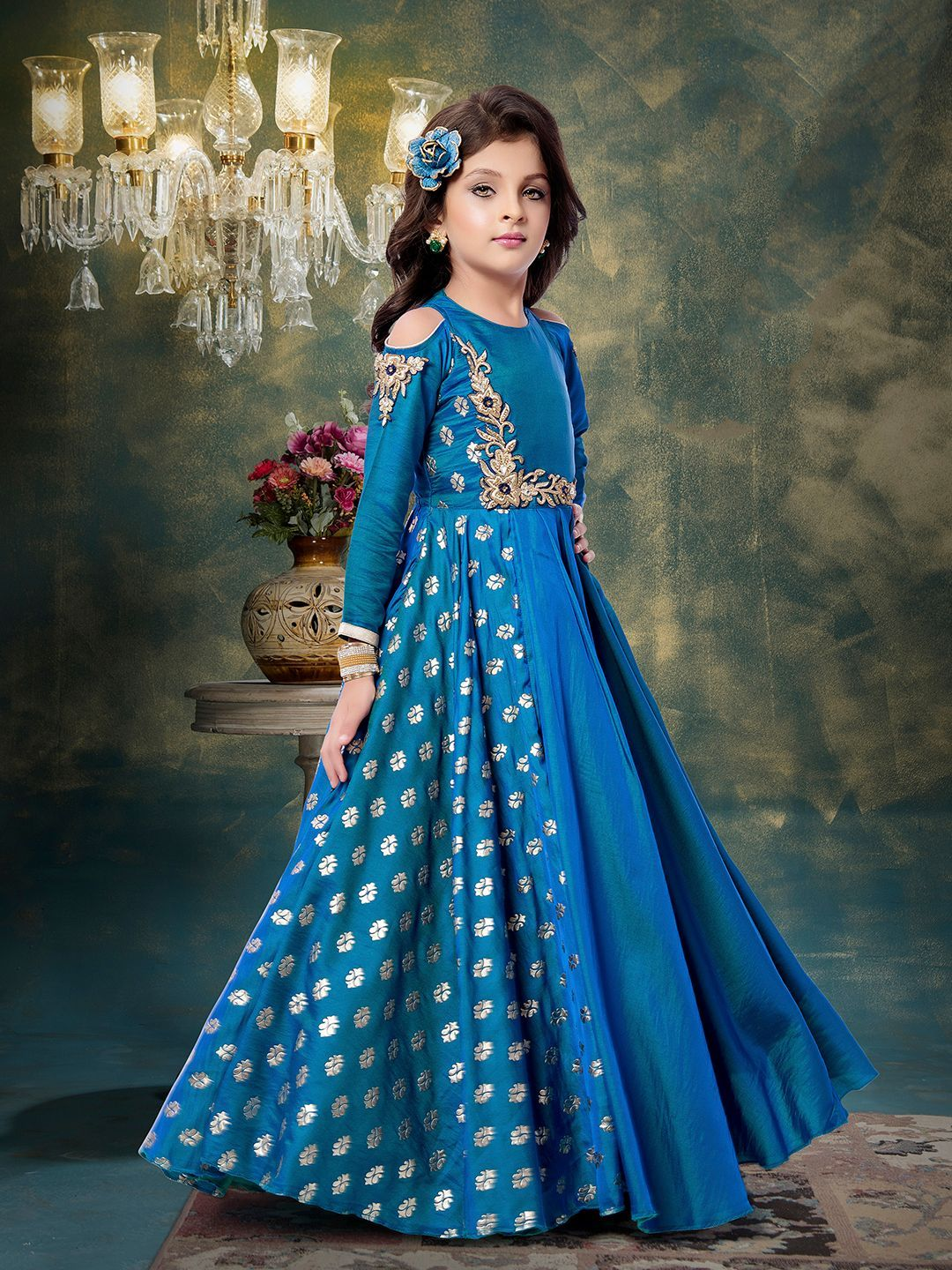 Shop Party wear blue gown online from G3fashion India. Brand - G3 ...
