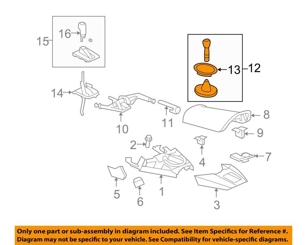 saturn transmission parts diagram ad ebay  saturn gm oem 07 10 sky transmission gear shift shifter  ad ebay  saturn gm oem 07 10 sky