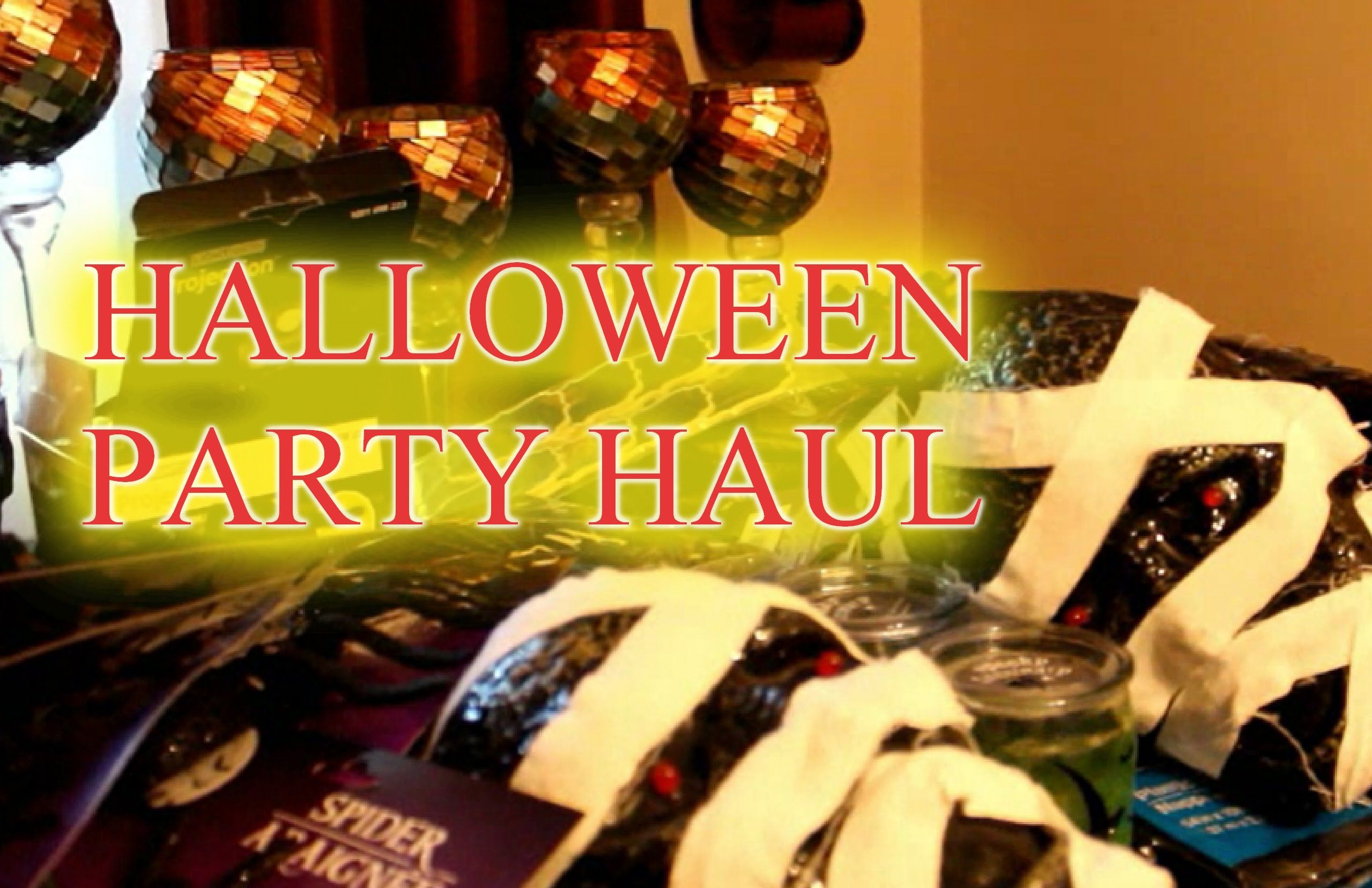 HALLOWEEN PARTY DECOR HAUL halloweem Pinterest Halloween - Hobby Lobby Halloween Decorations