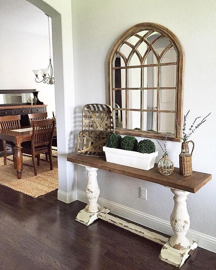 greyjuniper sure does love wooddecor and our natural on gorgeous modern farmhouse entryway decorating ideas produce a right one id=34462