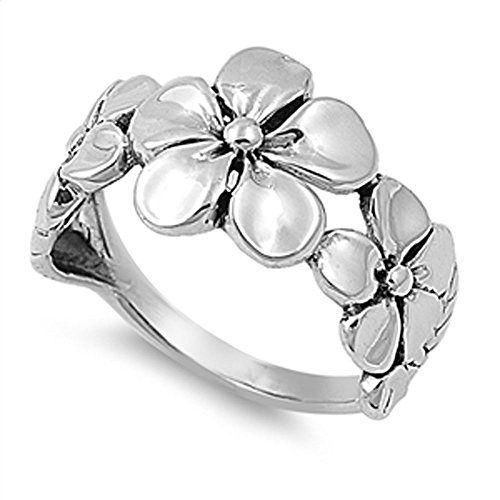 VE-01022 Sterling Silver Triple Plumeria Flower Band Ring (4) Jinique http://www.amazon.com/dp/B00P8A0YC6/ref=cm_sw_r_pi_dp_XwTewb06JM12E